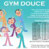 Gym douce au CNS