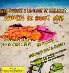 Journée à la plage de Merlimont