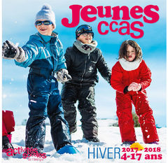 Catalogue séjours jeunes hiver 2017-2018