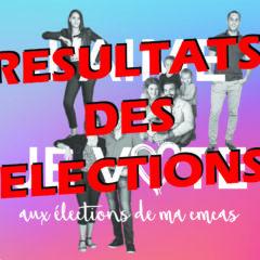 Résultats des élections de CMCAS