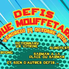 Défis rue Mouffetard
