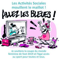 L'égalité est un sport de combat, les Activités Sociales se mobilisent