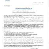 Mesures CCAS liées à l'épidemie de Coronavirus