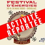 Activité reportée en 2021 // Soulac – Festival d'Energies 2020