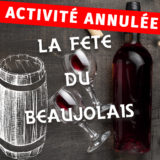 Activité annulée // La Fête du Beaujolais