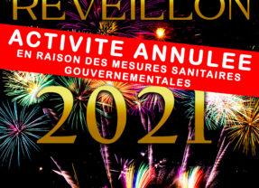 Activité annulée // Réveillon du Jour de l'an 2021