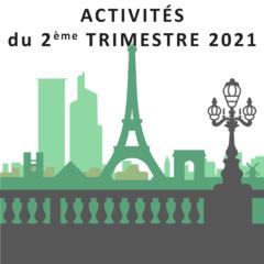 Activités des Inactifs 2ème trimestre 2021