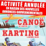 Activité annulée // Journée Canoë Karting spécial 13/17 ans